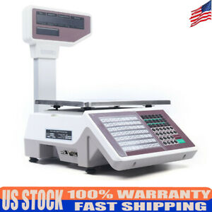 Digital Weight Price Scale 66lb 30kg Computing Food Meat Scale Produce Deli 110v