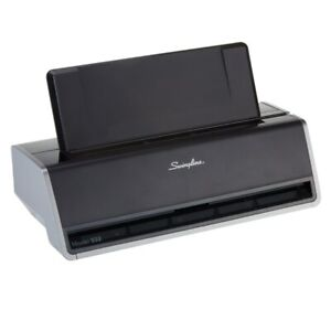 Swingline Model 532 2 hole Punch Black gray