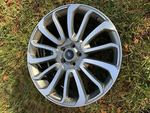 Range Rover 22 Inch Wheels Oem Replica Gray Inset