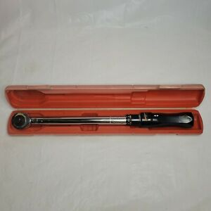 Performance Tool Torque Wrench M198 W Case Heavy Duty Free Shipping