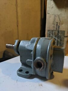 Brown Sharpe Rotary Geared Pump 1s New Old Stock 713 1 1
