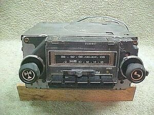 76 Chevrolet Bel Air Impala Caprice Am Fm Stereo 8 Track Radio