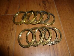Borg Warner T4 T5 3 4 Synchro Rings Nwc Used Set Of 10