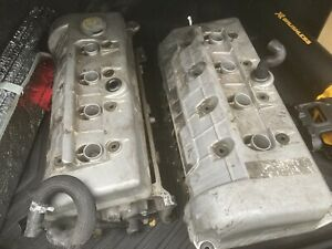 1996 1997 1998 Ford Mustang Cobra 4 6l Dohc Engine Valve Covers 96 97 98