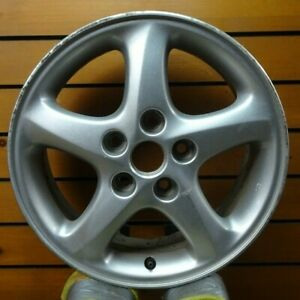 Mazda Protege 2002 To 2003 16 Inch Oem Wheel Rim All Silver 64843