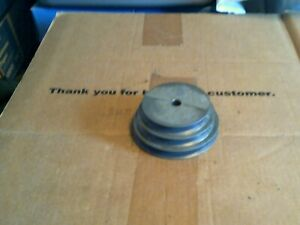 1 Of Chicago Part 148 Three Step Aluminum Pulley 1 2 Id X 3 1 2 X 4 X 4 1 2