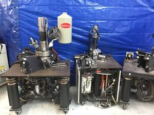 Etec Sem Scanning Electron Microscope System Crystal Detectors To Perform X ray