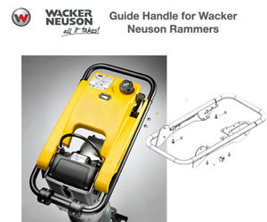 5100028600 Guide Handle For Wacker Bs50 2 60 2 70 2 50 4 60 4 70 4 Rammers