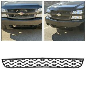 Gray Front Lower Grille For Chevrolet Silverado Ss 2003 2005 2004