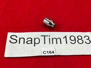 Snap On Tools Usa 3 8 Drive 8mm Metric 6 Point Shallow Chrome Socket Fsm81