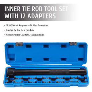 Inner Tie Rod Removal And Installation Tool Kit For Auto Car Truck More 13 Piece