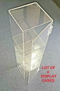 Acrylic Countertop Display Case 6lx6 25wx24 25h Clear Convenience Store Display
