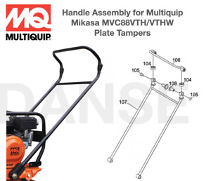416910120 Handle Assembly For Multiquip Mikasa Mvc88vth vthw Plate Tampers