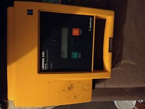 Physio Control Lifepak 500 With Child Pads And Electrodes