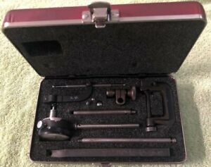 Starrett 10 Piece Dial Indicator Set