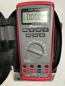 Snap On Auto Range Digital Multimeter Eedm504d