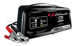 Schumacher Sc1305 12v Fully Automatic Battery Charger And 10 50a Engine Starter