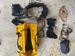 D27 Buckingham Lineman Pole Climbing Gear Most Comfortable Belt And Hooks