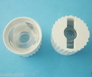 1pc 15 Degree Lens For Luxeon Led W White Base 21mm