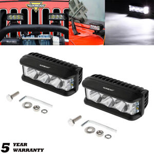 5 inch 30w Led Work Lights Bar Spot Combo Head Driving Lamp Pods Off Road Atv 4