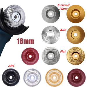 16mm Grinding Wheel Wood Angle Grinder Sanding Carving Rotary Tool Abrasive Disc