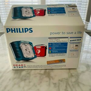 Philips Heartstart Onsite M5066a Aed Wall Mount needs Battery New W box