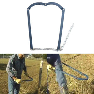 Garden Chain Strainer Cattle Barn Farm fence Stretcher Repair Slack Barbed Wire