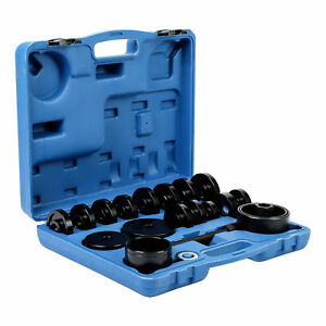 Fwd Front Wheel Drive Bearing Removal Adapter Tool Puller Pulley Kit 23pcs Sw