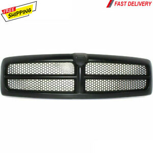 New For Dodge Ram 1500 2500 3500 Pickup Front Grille Fits 1999 2002 Ch1200245