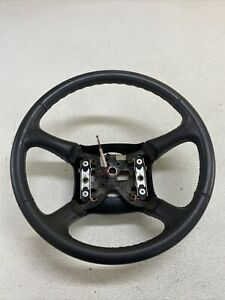 1998 2002 Chevy Silverado Gmc Sierra More Steering Wheel Oem Leather Wrapped