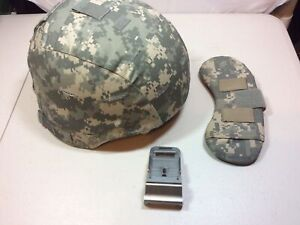 New MSA MICH ACH Helmet w ACU Cover amp; NVG Mount Bracket Crye Nape Pad Large L $329.99