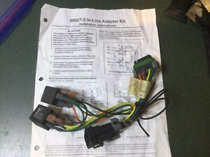 Western Douglas Dynamics Fisher Snow Plow Wiring Harness 28027 2
