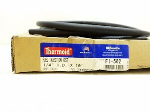 Fi 502 Thermoid Fuel Injection 1 4 I d 6 Ft L Hose Free Shipping Fi 502