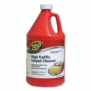 Zep Commercial High Traffic Carpet Cleaner 1 Gal 4 carton zpezuhtc128ct