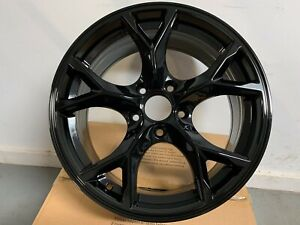 Four 17 Type R Style Gloss Black 5x114 Rims Wheels Fits Honda Civic Odyssey