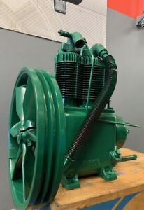 Used Champion R15b 5 7 5 Hp 2 Stage Splash Lubricated Compressor Pump