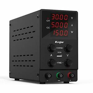 Kungber Dc Power Supply Variable 30v 5a Adjustable Switching Regulated Dc Ben