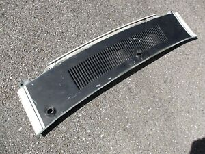 1969 1970 Mustang Mach 1 Cougar Xr7 Cowl Panel Fresh Air Vent Cover 69 70