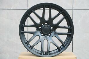 18x8 0 All M3 Csl Style Rims Matte Black Wheels Fits Bmw 3 Series E90 E92 E93