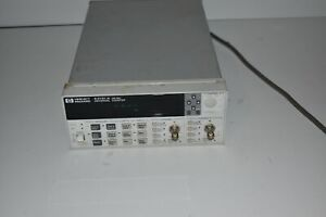 Hp Agilent 53131a 225 Mhz Universal Frequency Counter tz8