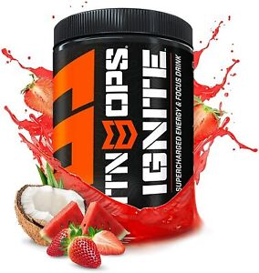 MTN OPS Ignite Supercharged Energy Drink Mix 45 Serving Tub Tiger#x27;s Blood $49.95