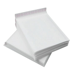Any Size Kraft White Bubble Mailers Shipping Mailing Padded Envelopes Self seal