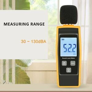 Handheld Lcd Digital Sound Level Meter Noise Decibel Tester 30 130db Measure