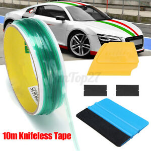 10m Finish Line Knifeless Tape Squeegee Car Wrapping Films Vinyl Cut Tool Uk