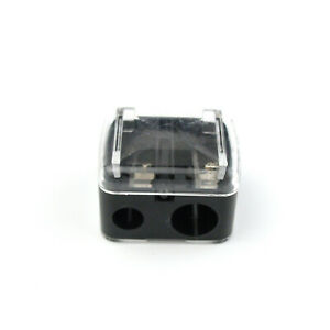 Modern Double Hole Pencil Sharpener Eco friendly Non toxic Office School