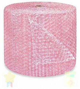 1 2 Large Bubble Cushioning Wrap Anti static Roll Padding 125 X 24 Wide 125ft