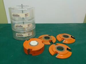 Freeborn Pro line Carbide Cutter Shaper 3 wing Cutter Shaper Tool Patterns Lot