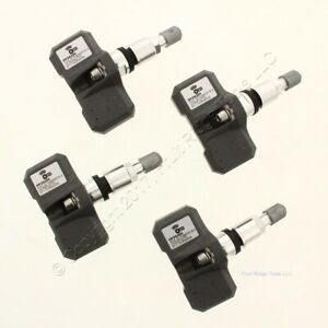 New Set Of 4 Orange Electronic Hy2g200 Tpms Tire Air Pressure Sensor