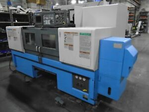 1999 Mazak Multiplex Mltplx 6200 Cnc Lathe 640t Control Live Tooling With Video