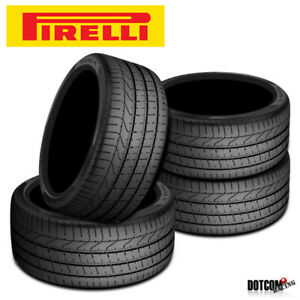 4 X New Pirelli Pzero 255 35r20 97y Summer Sports Performance Traction Tires